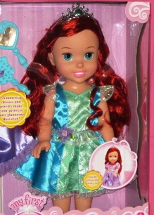 Princess Ariel Doll with Heart Necklace