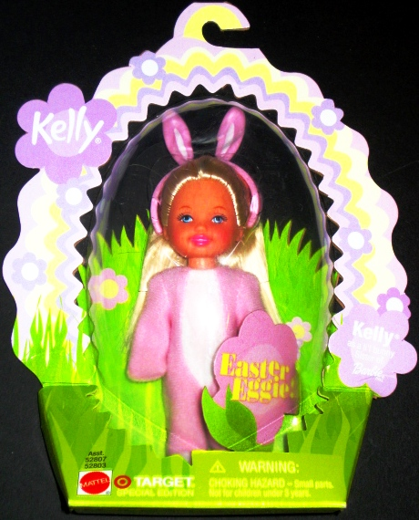 Easter Egg Kelly Doll Barbie Little Sister African American