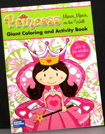 Royal Princess Giant Coloring and Activity Book