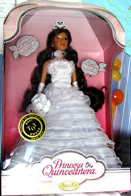 Princesa Quinceanera Doll Wedding Gown