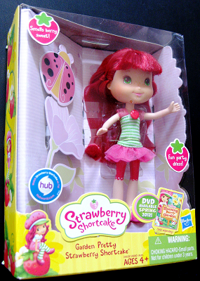Strawberry Shortcake Doll Garden Pretty Right View