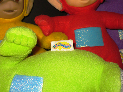 Teletubbies Tag of Authenticity