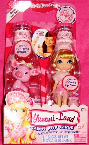 Katie Cotton Candy Doll & Giddy Gum Drop Pet Pig