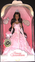 Princesa Quinceanera Doll Pink Gown