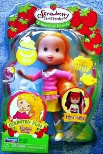 Banana Candy Strawberry Shortcake Doll A World of Friends