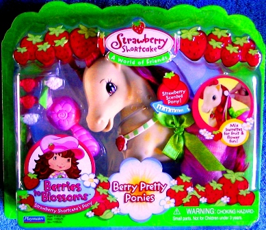 Strawberry Shortcake Doll Berries to Blossoms Pony Berry Pretty Ponies